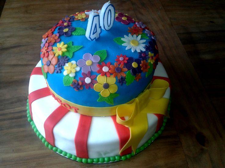 40ste verjaardags taart