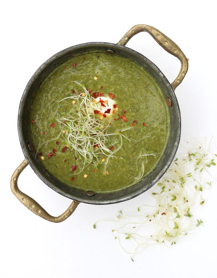 Krema grønnkålsuppe