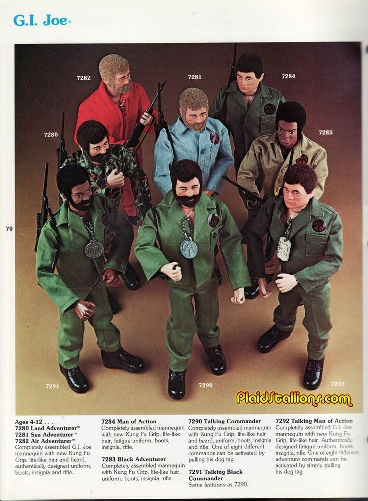 Hasbro 1975 GI Joe Adventure Team Catalog