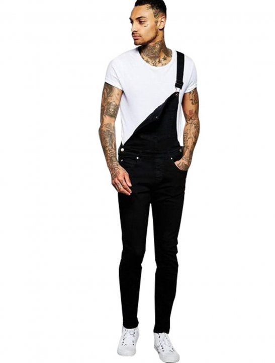 Ira skinny dungaree jeans worn in the Mabel and Not3s music video Fine Line featuring Not3s.