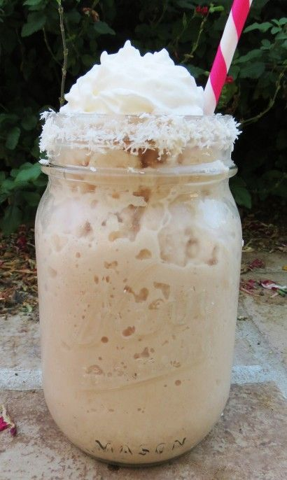 Sugar Free Coconut Mocha Frappe...mmmm..sounds good.