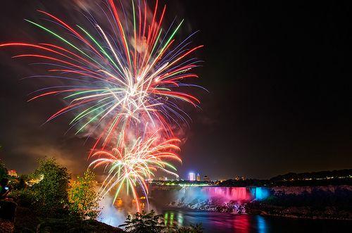 Niagara Falls Canada 2017 Fireworks Schedule