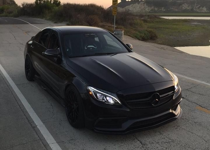 Mode Carbon Bodykit Zito Wheels ZF01 Tuning Mercedes C63 AMG 2 photo