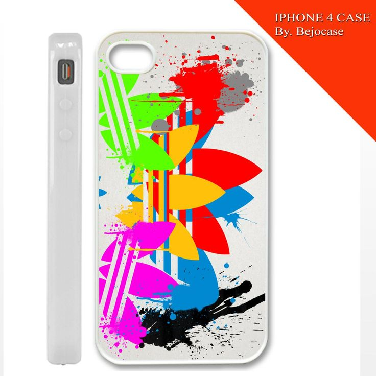 adidas paint art on iphone 4, iphone 5