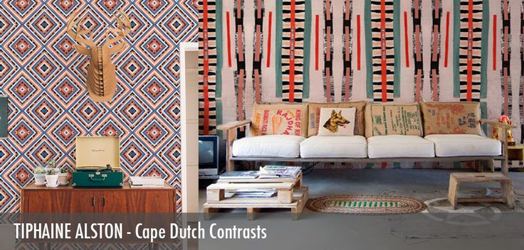 Tiphaine Alston - Cape Dutch Contrasts - Robin Sprong Surface Designer