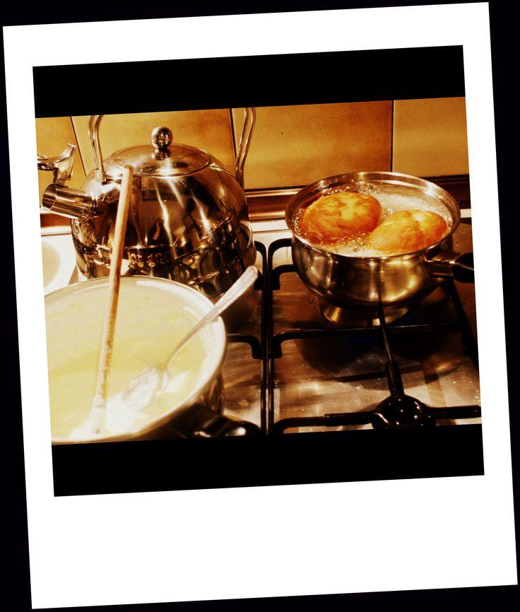 preparing doughnut :)