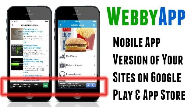 Get the FULL BENEFITS of high-converting mobile apps, by turning your old boring WP sites into gorgeous new apps