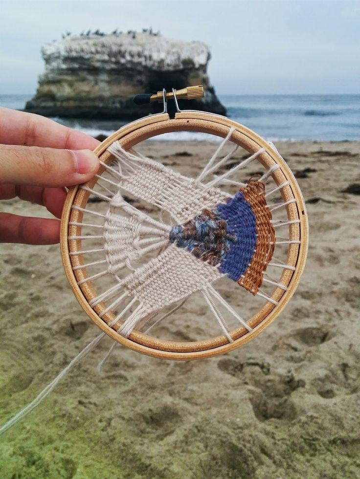 Beautiful circular weaving