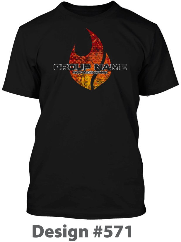 Flame youth group t-shirt design. | Youth Group T-Shirts ...