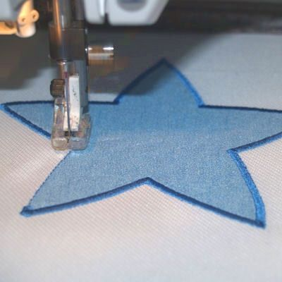 how to do machine embroidery