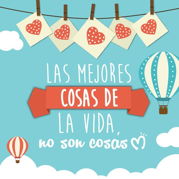 Las mejores cosas de la vida, no son cosas. #Life #Dreams #Migas www.migastenda.co