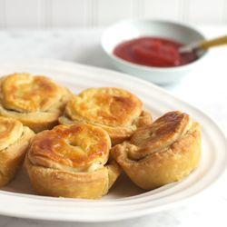 Beef, Onion & Guinness Pie. Recipe from MasterChef Australia
