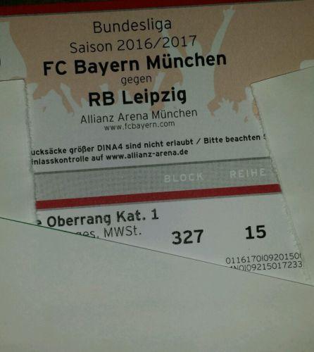 Fc bayern, Bayern München, Red Bull Leipzig, Tickets, Bundesliga | eBay