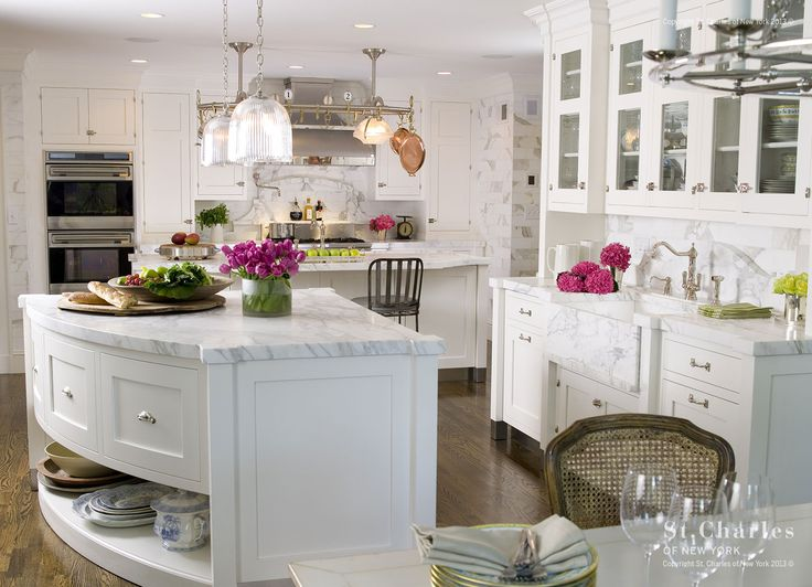 overall look - tile (subway), cabinet design, hardware, countertops, butler's pantry, lighting, color, etc