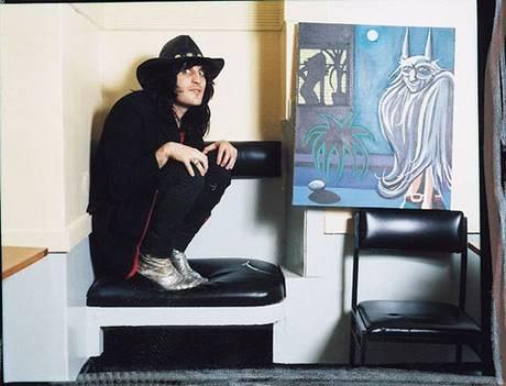 Noel Fielding and his art