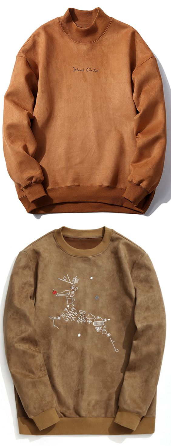 Up to 80% OFF! Crew Neck Graphic Print Suede Sweatshirt. Zaful, zaful shop, tops, mens top,men fashion,man hoodies, mens hoodies, man sweatshirts, man tops, man hoodies casual, man outfits, hoodies men swag, hoodies men pullover, jackets men, t-shirts,mens shirts,long sleeve t shirts,v neck t shirts, denim jacket, winter outfits,winter fashion,fall outfits,fall fashion, halloween costumes,halloween,halloween outfits,halloween tops,christmas,thanksgiving,gifts. @zaful Extra 10% OFF…