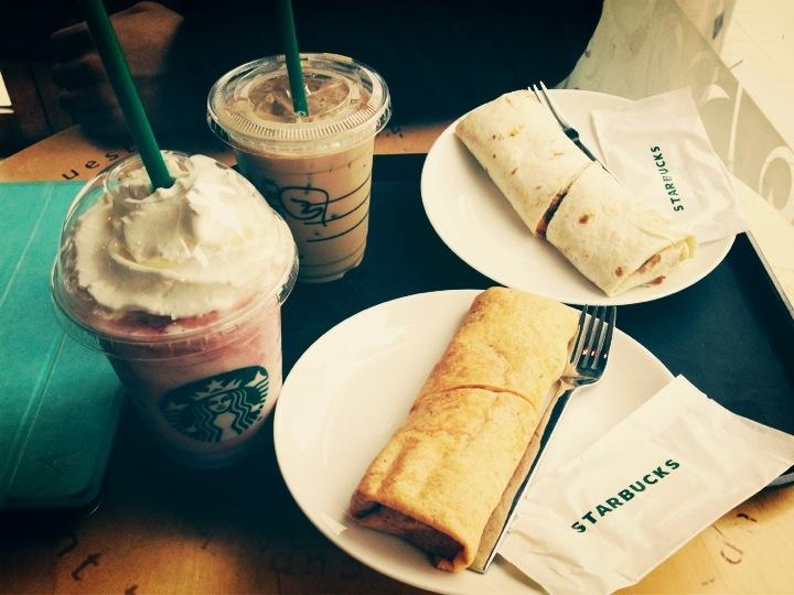 Starbucks Brunch!