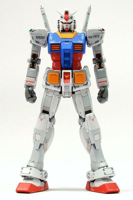 RG 1/144 RX-78-2 Gundam painted build.