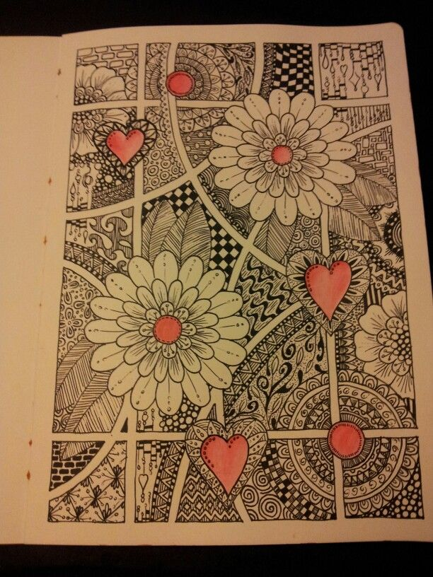 cheap flights to europe from usa in june Zentangle art journal page  Miranda Bosch   Thurlings