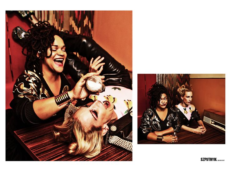 Photo: Dániel Nemeslaki Assistant of photography: Ádám Markus Models: Anna Pásztor, Sena Styling: Kissmárk Stylist assistant: Dalma Szőcs Hair stylist: Zsanett Fábián Make-up artist: Eszter Magyar Werk: Jácint Jónás