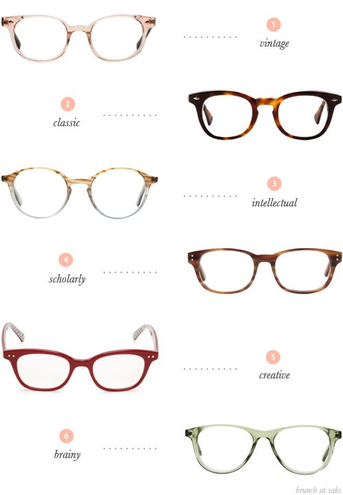 Glasses Frames Face Types : 150 best images about Choosing Perfect Eyeglasses on ...