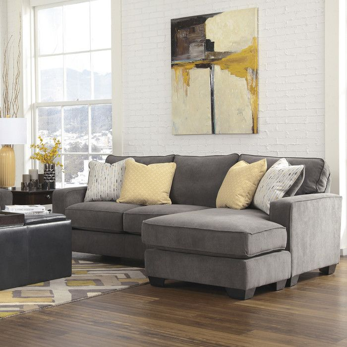 Holly 93quot right facing sectional sofa joss main for Sectional sofa joss and main