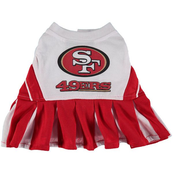 San Francisco 49ers Cheerleader Pet Outfit - $22.99