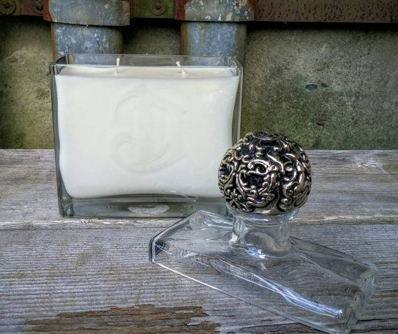 Deleon Tequila Soy Candle Handmade From A Recycled 750ml
