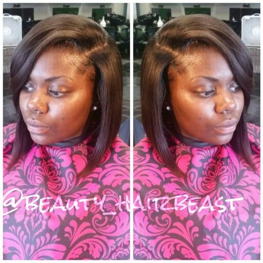 Pictures Of Side Part Bob Weave Hairstyles Rock Cafe