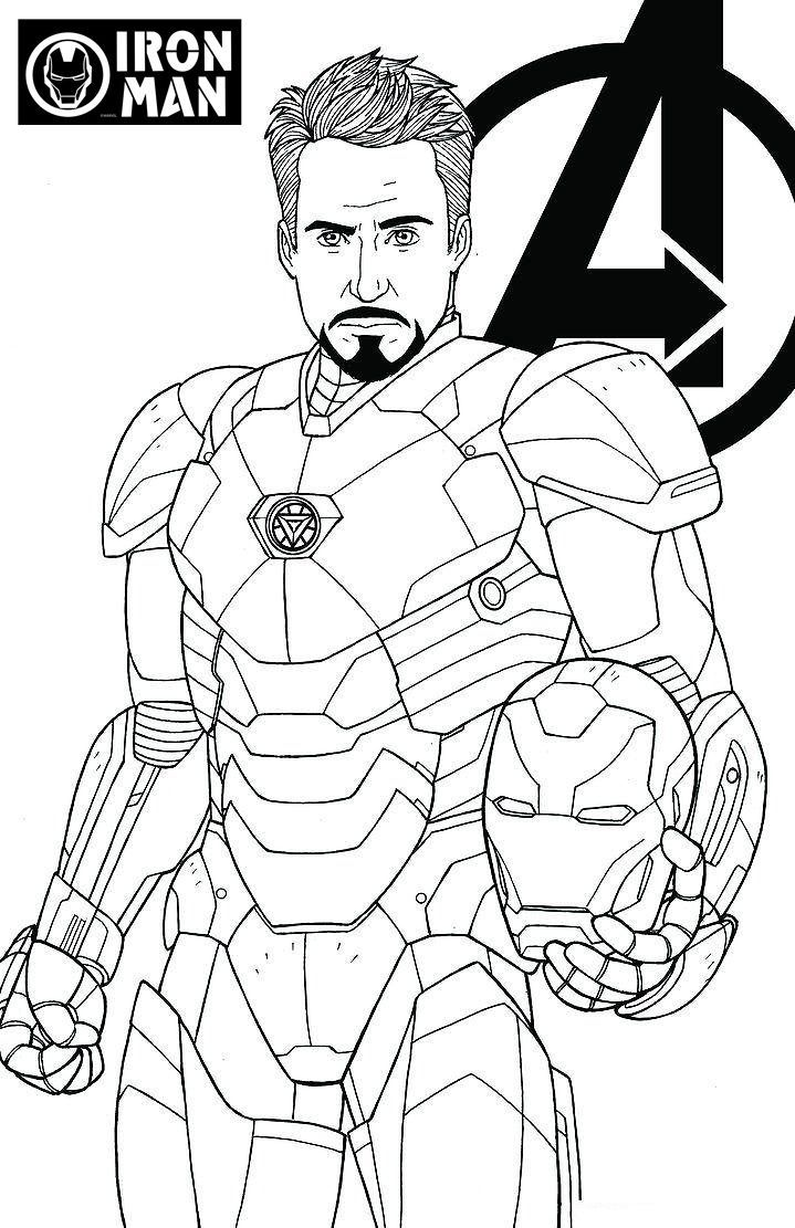 ironman malvorlagen download | amorphi