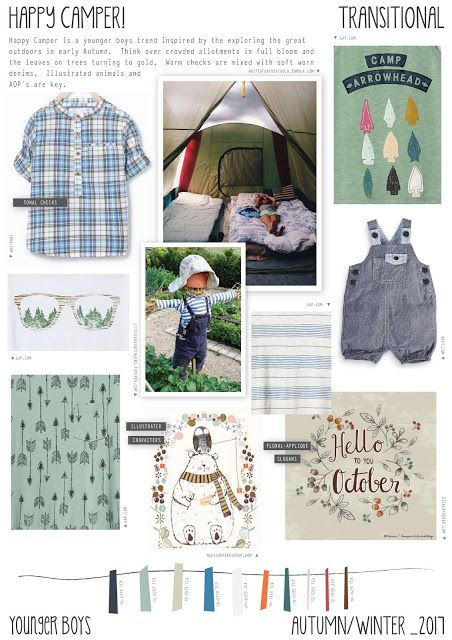 Emily Kiddy: Happy Camper - Autumn/Winter 2016/17 - Younger Boy...