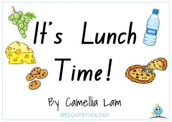 It's Lunch Time! - Printable interactive short story book for toddlers