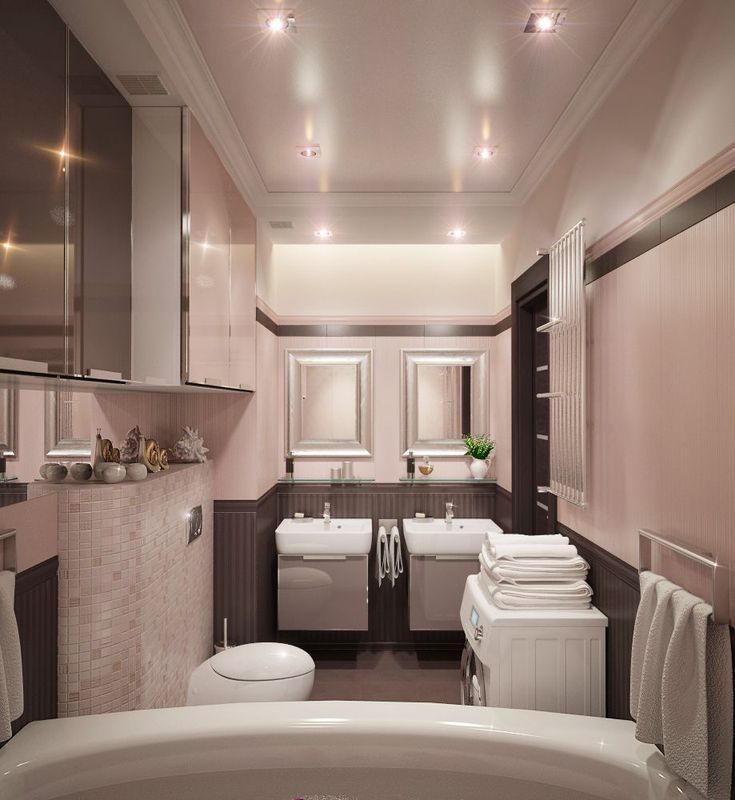 Stretch ceilings in the bathroom the ideal choice photo 17
