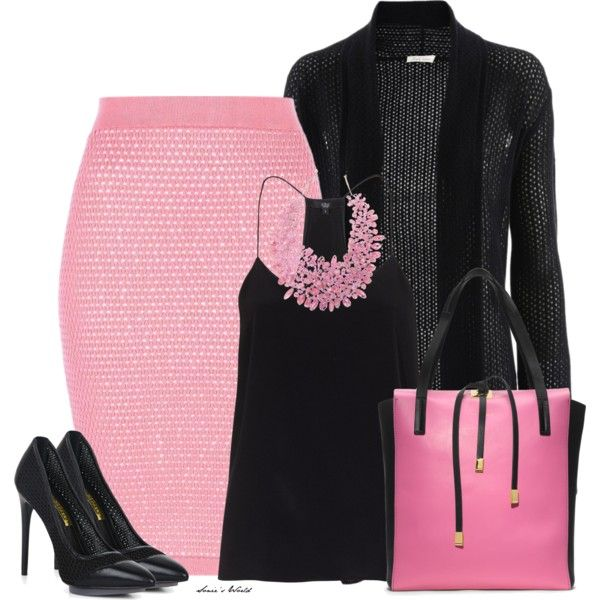 204 best Black and Pink Outfits images on Pinterest | Pink black, Cute  outfits and Casual outfits - 204 Best Black And Pink Outfits Images On Pinterest Pink Black