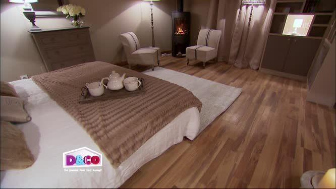 La chambre de Sylvain et Karine plaid