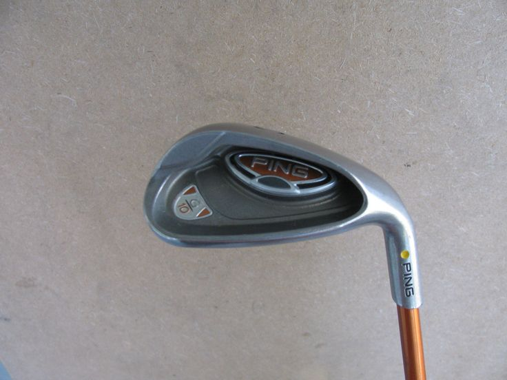 PING G10 SAND WEDGE 54 SENIOR SOFT REGULAR FLEX GRAPHITE TFC 129 YELLOW DOT S SW