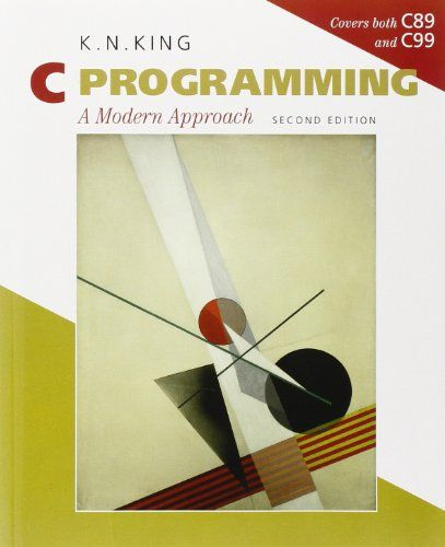C Programming: A Modern Approach, 2nd Edition | Required Textbook for Princeton's Computer Science 217 Introduction to Programming Systems: https://www.cs.princeton.edu/courses/archive/fall15/cos217/
