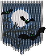 Bats Peyote Pattern at Sova-Enterprises.com