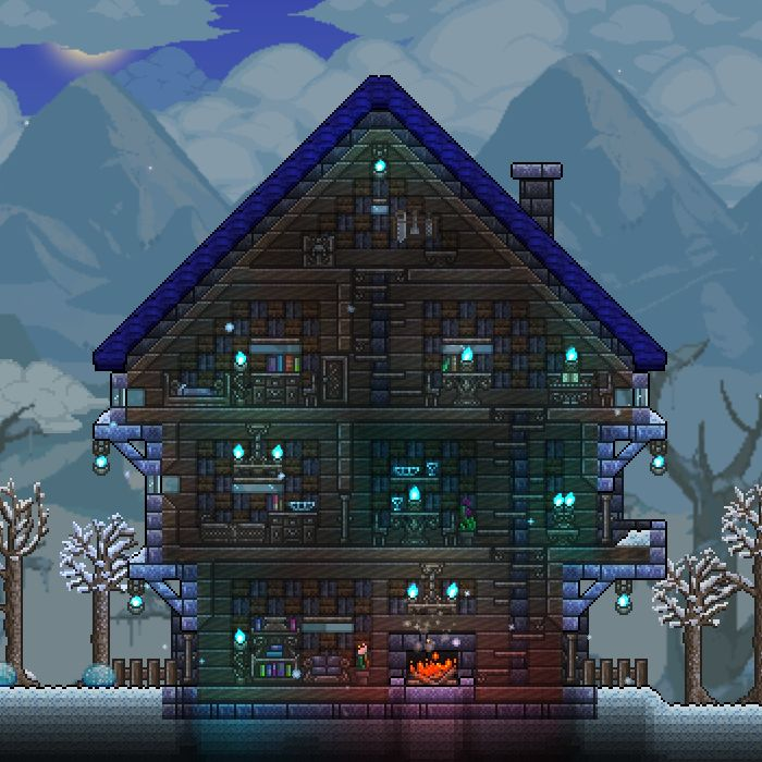 how to build a awesome house in terraria