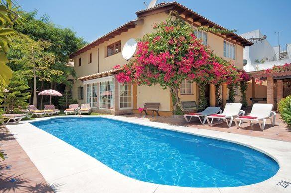 Villa Monegra, San Pedro, Costa del Sol, Spain. Find more at www.villaplus.com