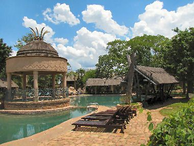 The Kingdom Hotel in Victoria Falls, Zimbabwe