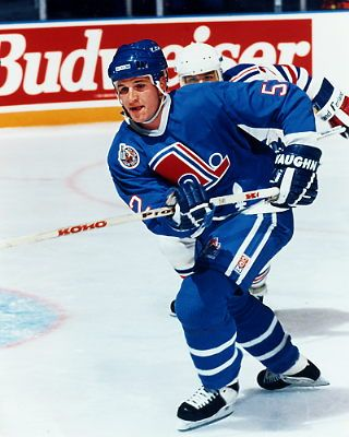 Adam Foote Quebec Nordiques - Colorado Inherited SOME TEAM!
