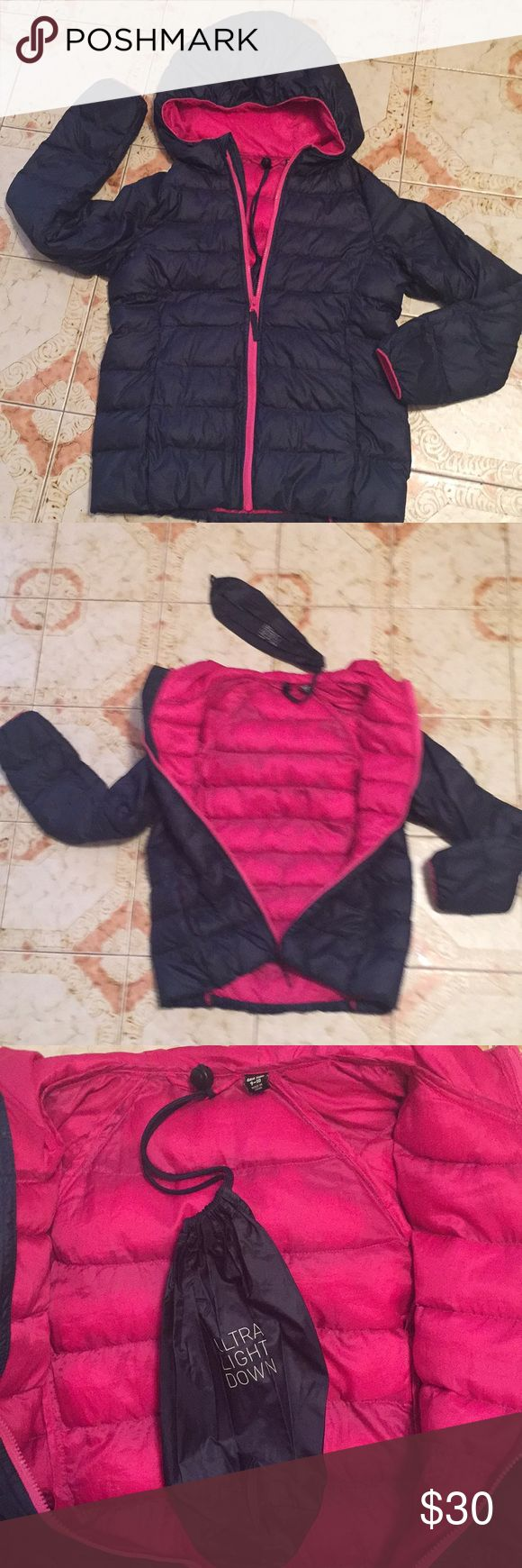 UNIULO girls hooded puffer jacket Lightly used Puffer