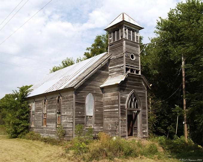 "abandoned country churches | Country Church"" An abandoned church on the back roads of Iowa."