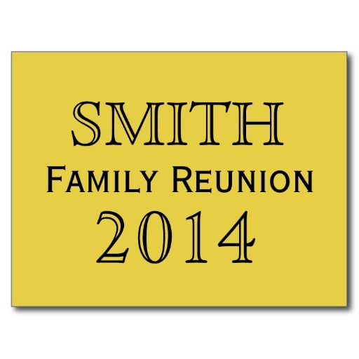 19 best Family reunion invitations images on Pinterest Family - invitations for family reunion