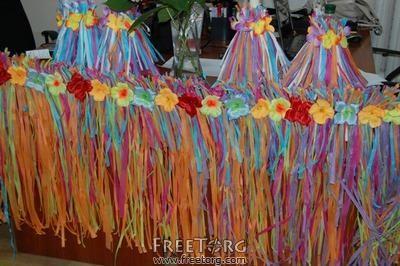 Гавайская вечеринка в ночном клубе костюмы