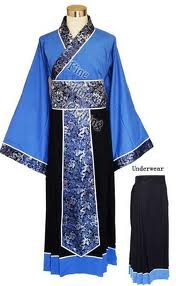 Traditional Chinese clothing for men.
