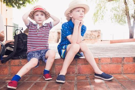 Kids TOMS! Always a fav! #toms #oneforone