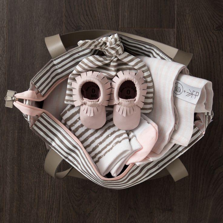 love taza & freshly picked | bringing home baby bundle - blossom