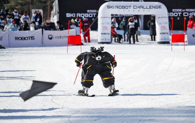 En estos Juegos Olímpicos de Invierno hasta los robots tuvieron su propia competición de esquí